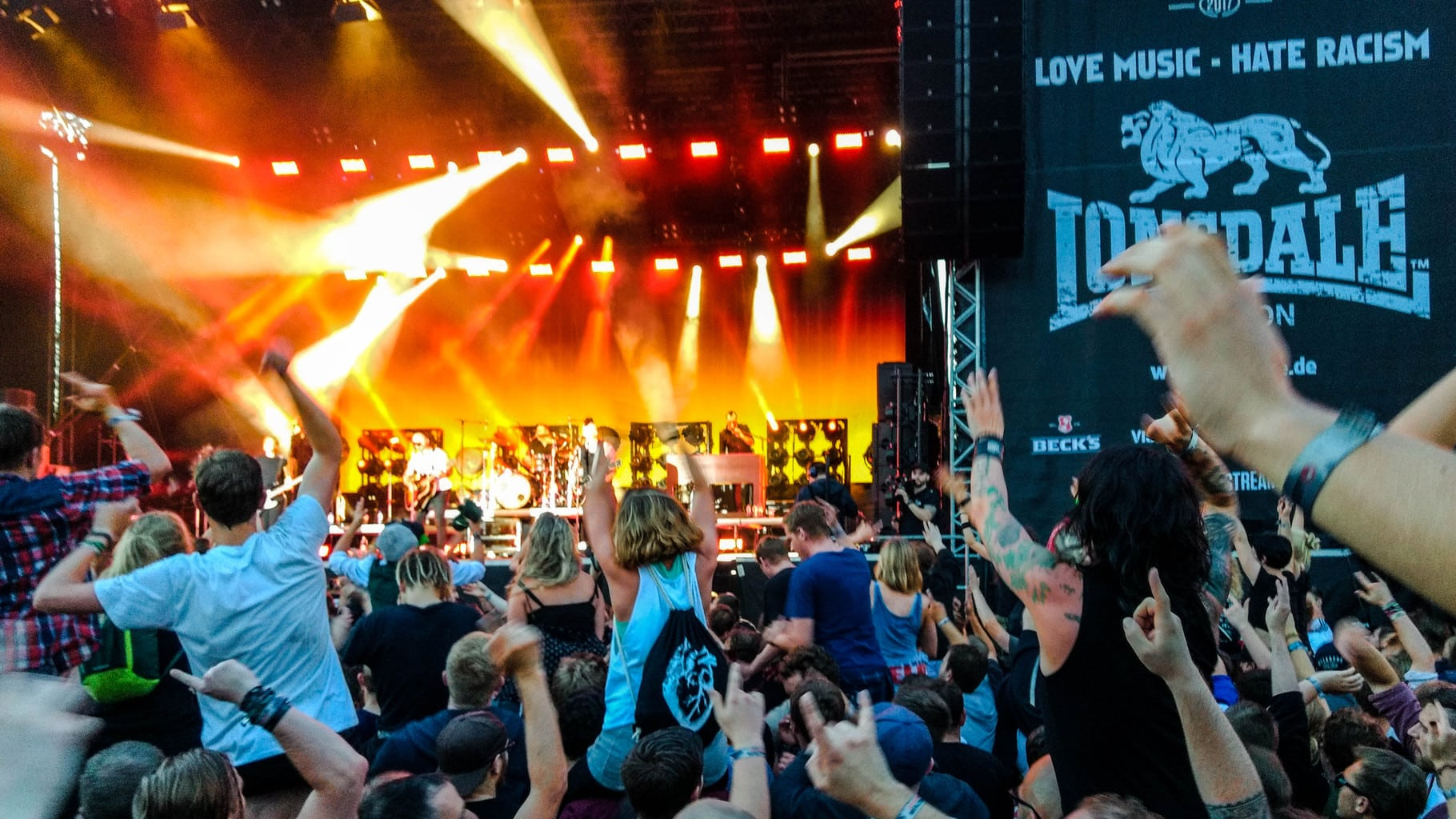 Broilers live a Vainstream rock festival 2017