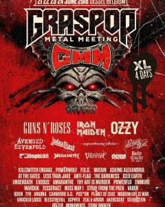 Graspop 2018 rock festival line-up